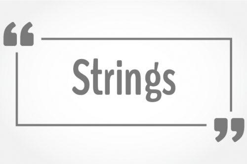 javascript string