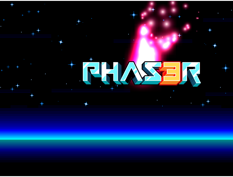 Phaser 3 game screenshot deployed on AWS