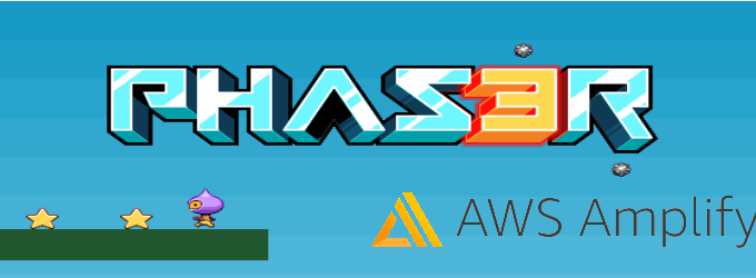 Phaser 3 and AWS Amplify